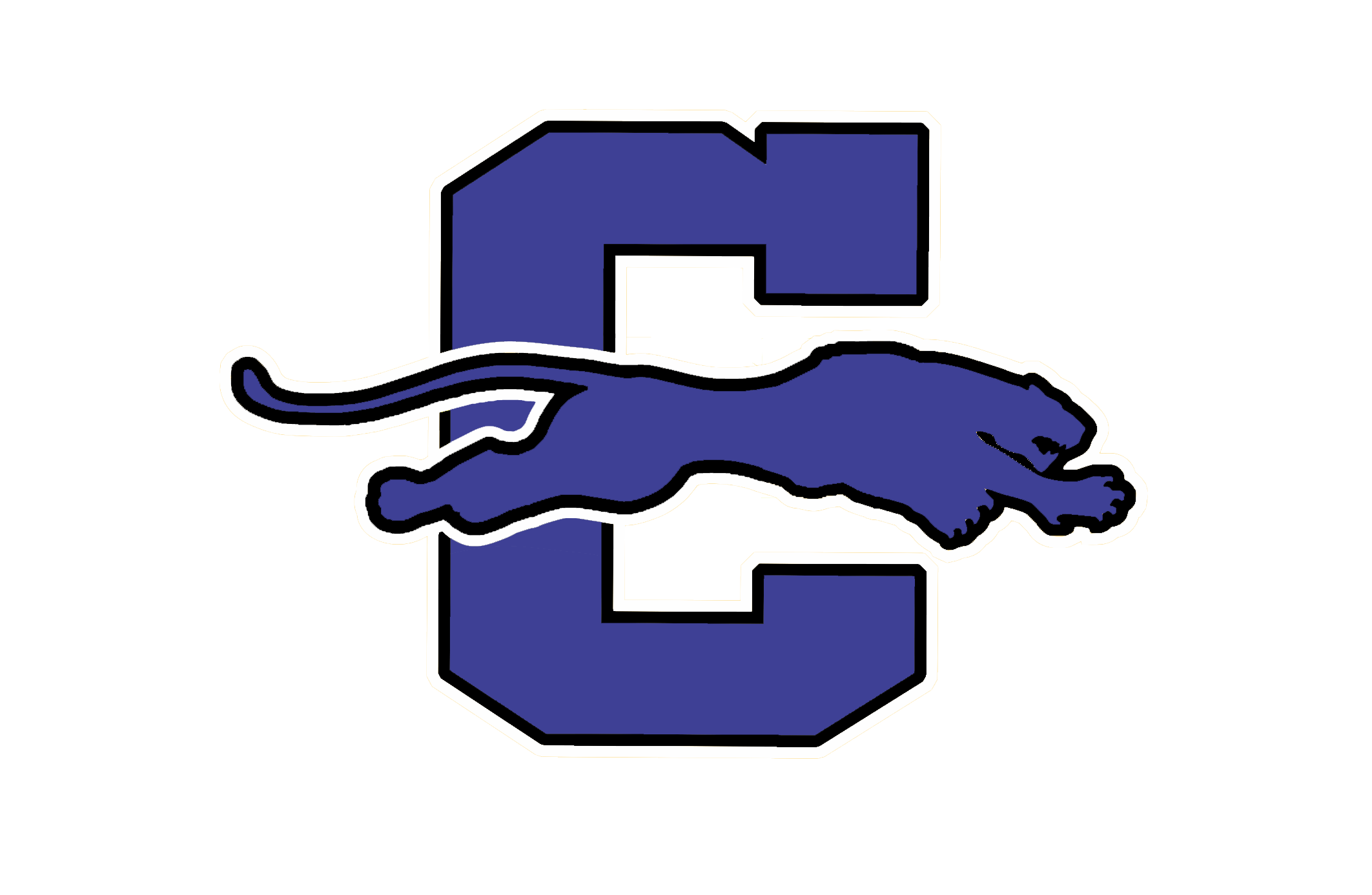 PANTHER LOGO blue fixed